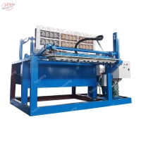 China Egg Tray 82kw 2500 Pieces/Hour Carton Forming Machine on sale