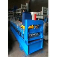 Quality Automatic 750 IBR Corrugated Color Steel Roll Forming Machine For Iron and Aluminum Metal Sheet for sale