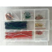 Quality Colorful Breadboard And Wire Kit Jumper Wire Kit 350 PCS For Breadboard Experiment for sale