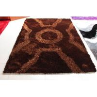 Quality X Design Malai Dori Mixed With Polyestet Silk Soft Shaggy rug for sale
