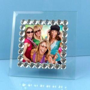 China Jeweled frame/bead jewels frame, 4 x 4 inches on sale