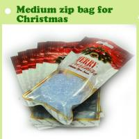 Quality 2015mini gift plastic bag/plastic zipper bag with clear window/zip lock bag making in China for sale