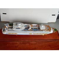 China Scale 1:900 Oasis Of The Seas Royal Caribbean Cruise Ship Models With Engraving Printing Hull Logo Printing on sale