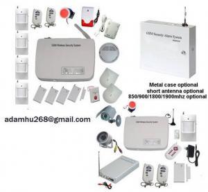 Quality GSM Alarm Wireless Security Burglar Alarm System (ATS-802) SMS ALARM MSM ALARM HOME GSM ALARM GSM PREPAID ALARM INTRUDER ALARM for sale