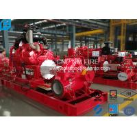 High Precision Centrifugal Fire Pump 1000GPM /145PSI For Storage