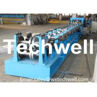 Quality Automatic Control Cz Purlin Roll Forming Machine 20KW 18.5 Ton Easy Operate for sale