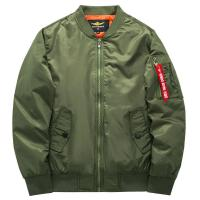 Quality Ma1 Aviator Running Jacket Of 100% Cotton Winter Tide Army Men