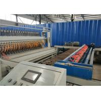 Quality Building Concrete Rebar Wire Mesh Making Machine  , 380V Grating Welding Machine for sale