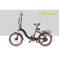 China 48V 500W 25 - 35km / h Electric Powered Bicycles Collapsible Bikes Lightweight 20 2.125 Tire reflector cycle on sale