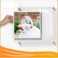 Quality Manufacturer Supplies wall-mounted Crystal Acrylic picture Frame for sale