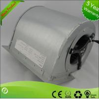 Quality AC Double Inlet Industrial Centrifugal Fans / High Pressure Centrifugal Blower for sale
