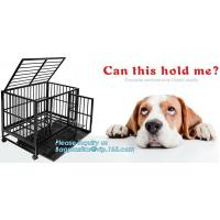 Quality Hot Sale Dog Cage with Wheel 78X41.5X47 CM(Best Quality, Direct Factory, Low Price, Fast Delivery), Custom heavy duty Al for sale