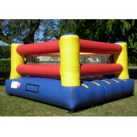 Quality 0.55mm pvc Inflatable Sports Games , Inflatable Indoor Court For Boxing Ring for sale