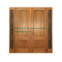 Quality Solid Exterior Wooden Door for sale