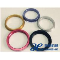 Quality Colored Alloy Aluminum Hub Centric Rings ,   Wheel Accessory O.D 72.64 / 73mm for sale
