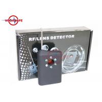 Quality Wireless Pinhole Camera Lens Detector Anti Spy Device Current Consumption 8mA for sale