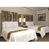 China Full Size Five Star Hotel Furniture , Luxury Contemporary Bedroom Furniture Sets on sale