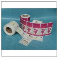 Quality Custom Printed Adhesive Roll Label Sticker Logo Printed Roll Label,Custom Printed Roll Self Adhesive Logo Label for sale