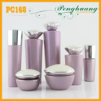 Quality 100ml Frosted Glass Bottles For Cosmetics , 30g Skin Lotion Containers for sale