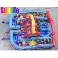 Quality hot sell inflatable jumper slide combo com093 for sale