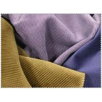 Quality 100% COTTON CORDUROY FABRIC PLAIN DYED    CWT#14W for sale