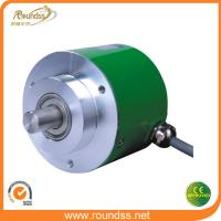 Quality 5000 ppr Motor DC Incremental Rotary Encoder 50mm Diameter for sale