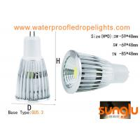 China 5W Non Dimmable MR16 LED Spotlight / 12v GU 5.3 LED Spotlight Lamp For Shop on sale