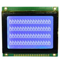 China Blue Film Negative Graphic LCD Dot Matrix Module,ISO9001:2008 / ROHS Approval on sale