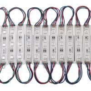Quality DC 12V LED RGB 5050 SMD LED module light strip for sale