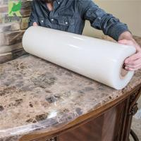 Quality 0.03-0.2mm Clear Transparent Self Adhesive Granite Protective Film for sale