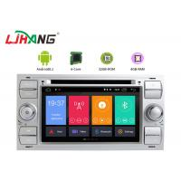 China 32GB ROM Ford F150 Dvd Player , Steering Wheel Control Double Din Radio With Gps on sale