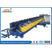 Quality 75mm Roller Shaft C Z Purlin Roll Forming Machine , C Shape Purlin Making Machine for sale
