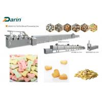 China DR -280 Stainless Steel Colored Dog Biscuit Making Machine With Stable Performance on sale