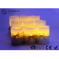 Buy cheap 3pk LED candle Flameless Candle Christmas candle painting with silkribbon from Wholesalers
