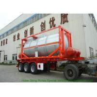 Quality 20FT Steam Heating Insulated Tank Container Stanless Steel For Yellow Phosphorus  P4 for sale