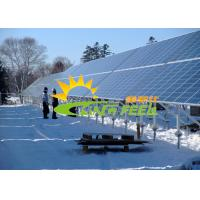 Quality Silver Reliable Photovoltaic Mounting System Ground Mount for sale