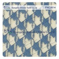 China Classic Houndstooth  Irregular 42% Nylon 58% Cotton Fabric for casual wear on sale