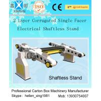 Quality Single Facer Automatic Cutting Paper Carton Making Machine With Manual Brake Disc for sale