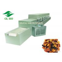 Quality Microwave Drying Equipment Industrial Sterilizer Device For Dats / Nuts / Green Tea for sale