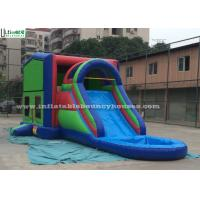 Commercial Jumping Castles 5 In 1 Inflatable Bounce House With Slide