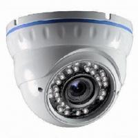 Quality 3.5-inch CCTV Weatherproof IR Dome Camera, 420 to 700TVL Resolution, Available in White Color for sale