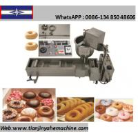 Quality TJ-2 Stainless Steel Made Automatic Small Donut Machine for sale