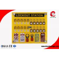 Quality 20 safety padlocks lockout station lockout Lock Hanging Board With tagout management station for sale