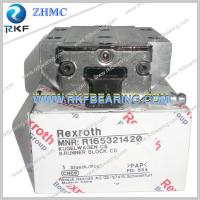 Quality Germany Rexroth R165321420 Linear Motion Ball Rail System Runner Block for sale