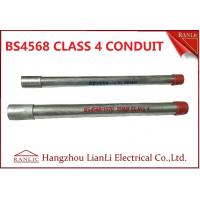 Quality Electrical BS4568 Gi Conduit Pipe 4 With Maximum Size Up to 150mm for sale