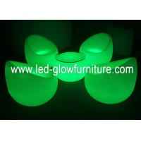 Quality Modern Color changed rechargable LED Chair with adapter for wedding decoration for sale