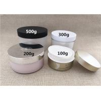 Quality Large Volume Plastic Jar Containers PS / PP / PETG Material Basic Round Shape for sale