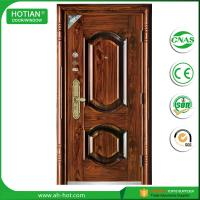 Quality New Main Gate Designs and High Quality Steel Security Door Exterior Metal Door for sale