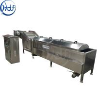 Quality 98 Celsius Vegetable Blanching Machine High Automation Control For Food Processing for sale