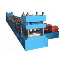 Quality W Beam 2 Wave Highway Guardrail Roll Forming Machine / Bending Cold Roll Forming Machine for sale